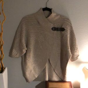 Wrap cardigan sweater